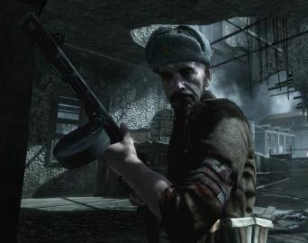 Sgt. Reznov. Salah satu NPC utama.