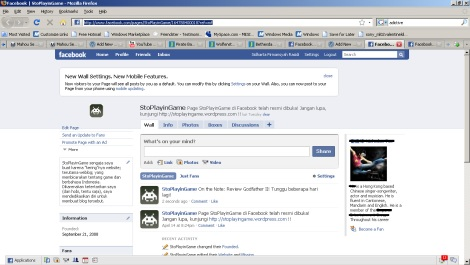 Woo-Hoo! SPG page, bru! (No Offense on the censored- and about the tabs... well, I have no live, I know...