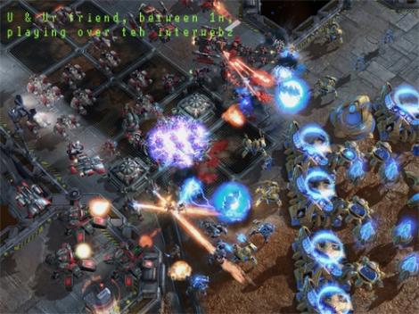 Nyoba nyambungin LAN ke CS aja udah susah, sekarang ini? Bentar, gwa kan ga maen StarCraft...